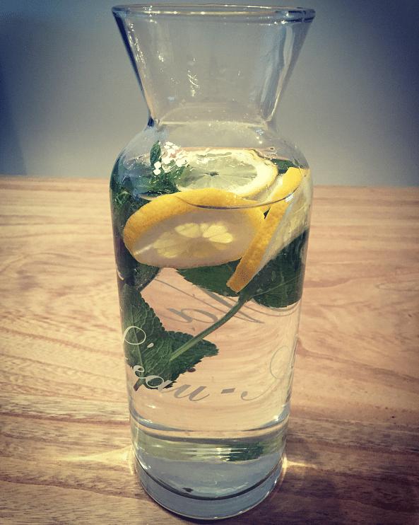 Detox-water-mint-citroen-karaf-fibromyalgieblog