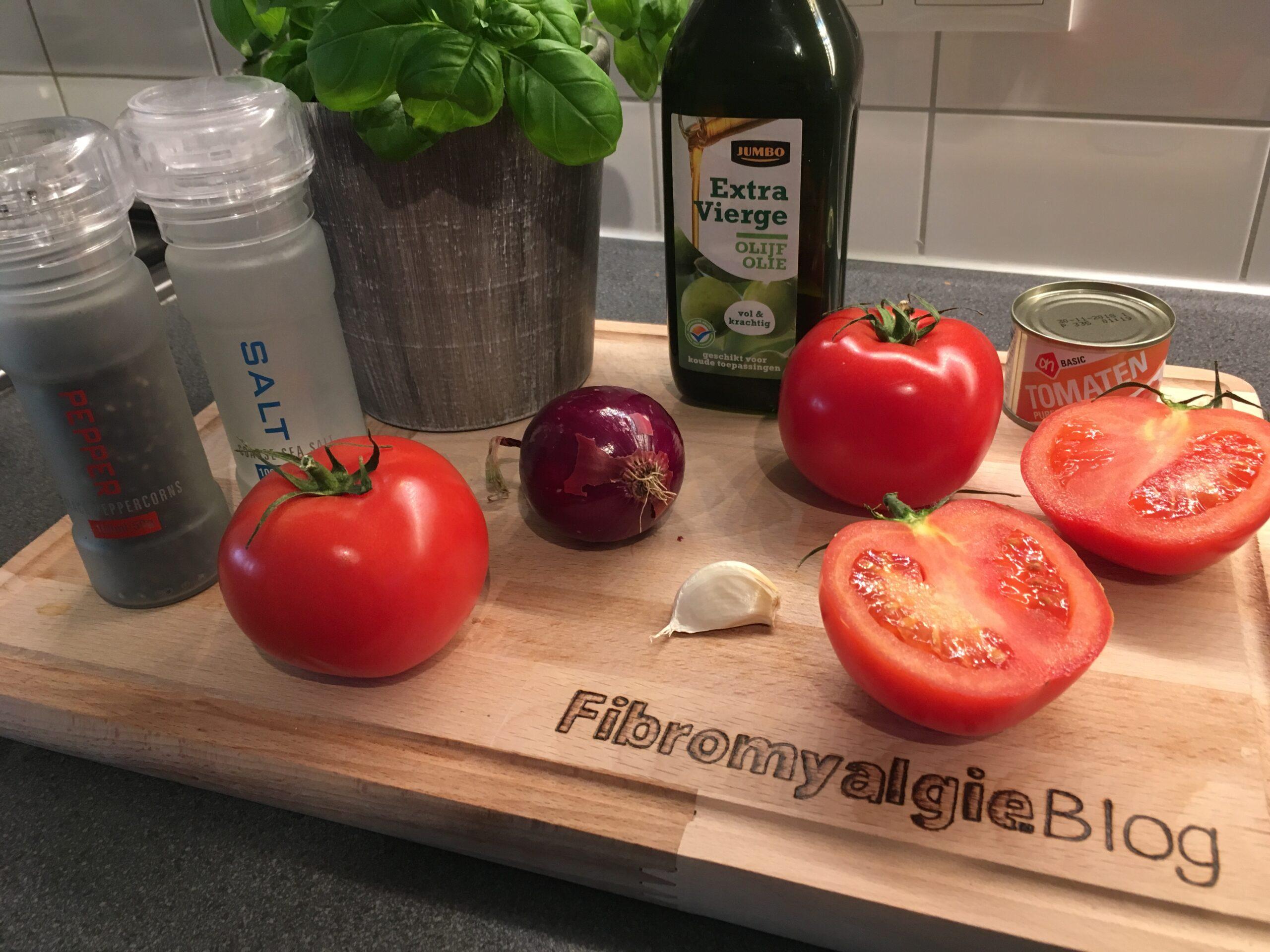 Ingrediënten-tomatensaus-fibromyalgieblog