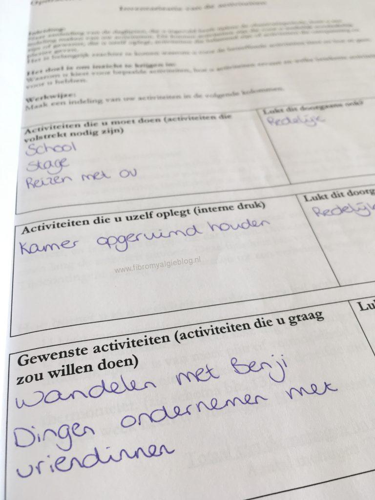 revalidatietraject blixembosch ergotherapie werkboek bewerkt