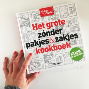 Cover het grote zonder pakjes en zakjes kookboek