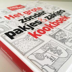 Het grote zonder pakjes en zakjes kookboek cover