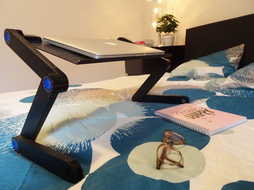 liggend werken - laptop standaard