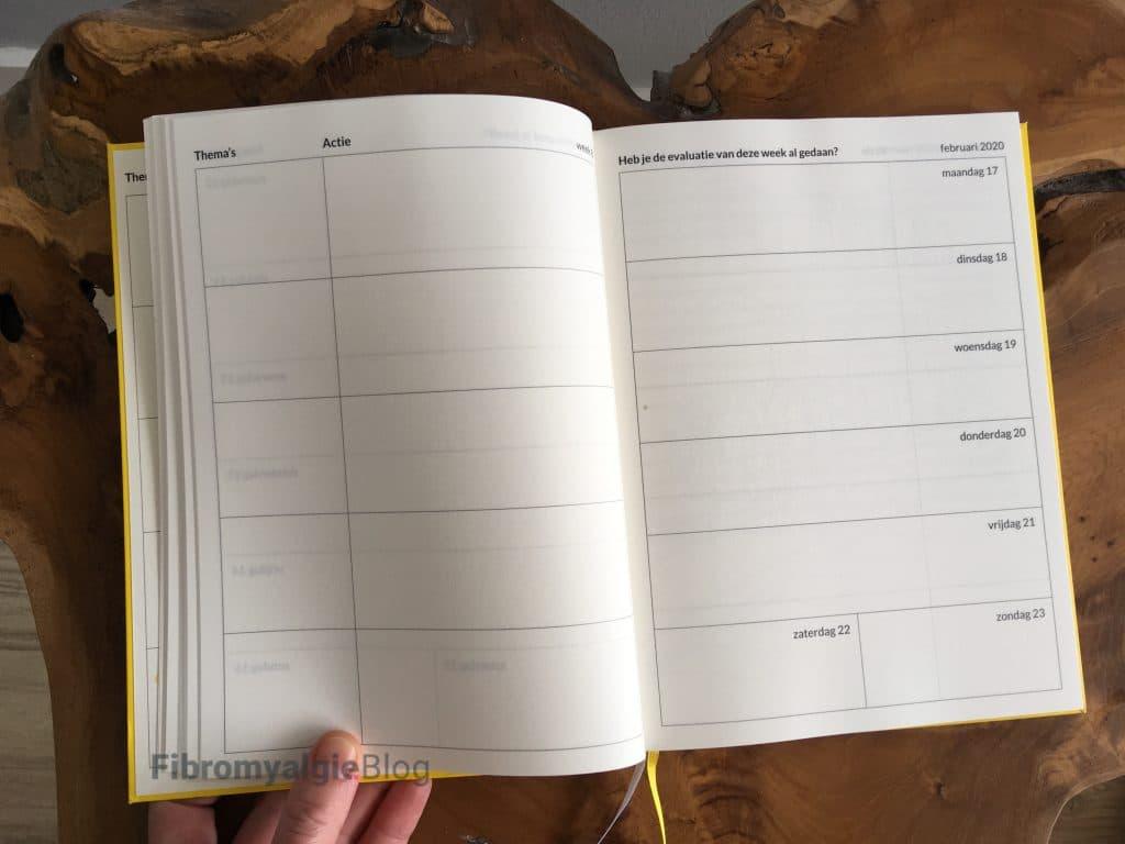 eenvoudig leven agenda review - week