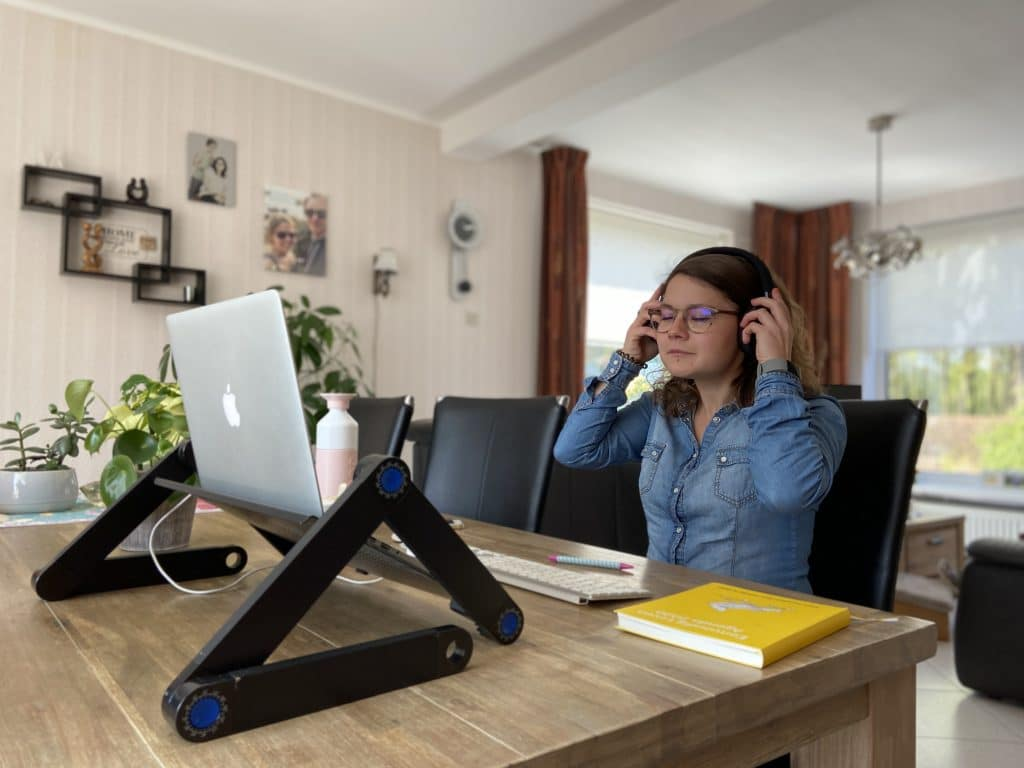 fibromyalgie en thuiswerken